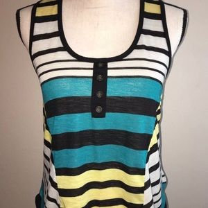 Mossimo Supply Co. Tops - [Mossimo] Stripe Racer Back Tank Top *CLEARANCE